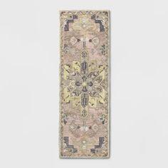 Damask Tufted Vintage Wool Rug - Threshold™ : Target Vintage Wool, Vintage Rugs, Master Closet, Rug Material, Rectangle Shape, Warm Colors, Persian Rug, Pattern Making, Damask