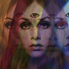 Twiggy Psychedelic Art, Eugenia Loli, Especie Animal, Psy Art, She Wolf, Psychic Abilities, Illustrations, Twiggy, Third Eye