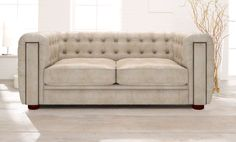 Chesterfield Sofa in moderner Interpretation: Modell Rochester. www.kippax-sofas.de/kippax-chesterfields.htm