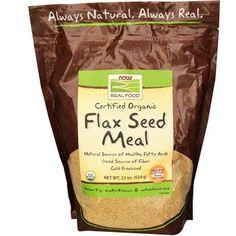 Organic Flax Seed Meal - 12 oz  $3.18