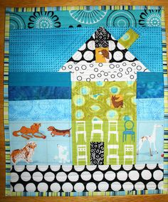 Mini Quilt Swap Received by bahamadawn, via Flickr