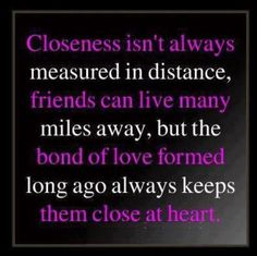 ... Distance Friendship, Long Distance Relationships and Long Distance
