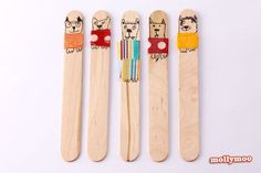 puppies-craft-stick-dolls.jpg (1000×668)