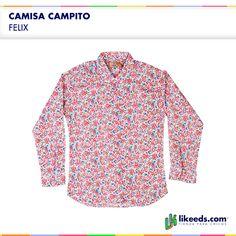 Camisa Campito de #Felix. #Moda #Nenas  Para ver talles y comprar ¡Hacé click en la imagen!