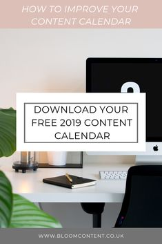 How To Set Up Your Content Calendar For 2019 - Bloom - Content Facebook Marketing, Content Marketing, Social Media Marketing, Find Instagram, Marketing Calendar, Virtual Assistant Services, Pinterest Marketing, Improve Yourself, How To Start A Blog