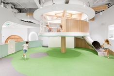 Play And Learn Nubo In 2019 Kid Spaces Indoor Playroom Kindergarten Interior, Kindergarten Design, Playroom Design, Kids Room Design, Indoor Playroom, Kid Playroom, Cool Playgrounds, Interior Architecture, Interior Design