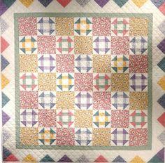 Vintage Quilt Patterns | Free pattern: Vintage Churn Dash Quilt · Quilting | CraftGossip.com