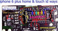 iPhone 6 Plus Home Key Button Not Working Problem Solution Jumper Is Not Working Repairing Diagram Easy Steps to Solve Full Tested Iphone 6 S Plus, Problem And Solution, Jumper, Smartphone, Diagram, Buttons, Key, Unique Key, Jumpers