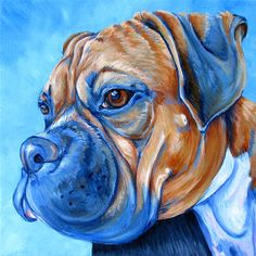 Pet Portraits by Bethany Gallery of Past Pet Paintings - Pet Portraits by Bethany