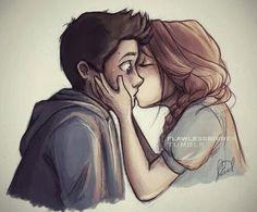 Resultado de imagen para cute couple drawings