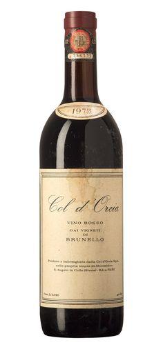 Rosso dai vigneti di Brunello, il precursore del Rosso di Montalcino. Col d'Orcia