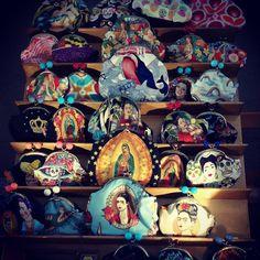 YoYo atelier | Aiutoooo, le voglio tutte!!! #bag #pochette #madonna #frida #pinup #milan #venturalambrate #mdw #handmade
