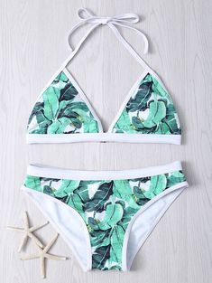 SHARE & Get it FREE | Tropical Print Halter Bikini SetFor Fashion Lovers only:80,000+ Items • New Arrivals Daily • Affordable Casual to Chic for Every Occasion Join Sammydress: Get YOUR $50 NOW!