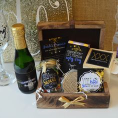 Trendy DIY Bridesmaid Box Instant Download Gift Labels