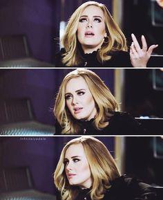 My mood whenever I'm at school My study is waaaay to easy for me Adele gets me❤❤❤ . Adele 19, Adele Live, Adele Music, Adele Singer, Adele Funny, Adele Daydreamer, Adele Hair, Adele Adkins, Cool Lyrics