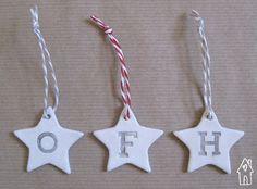 10 Personalised Alphabet Decoration Personalised by oldflourhouse