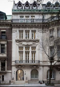 Upper East Side Manhattan Townhouse in a Landmarked Limestone Building