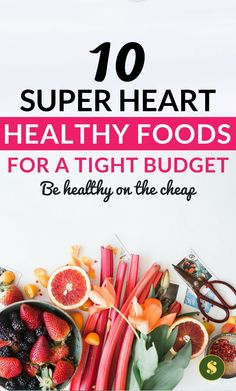 Learn the best ways to eat healthy foods on a tight budget. It's simple and not tricky at all. These healthy living tips will help you save extra money and be healthy. healthy lifestyle l frugal living tips l grocery on a budget. Ways To Eat Healthy, Heart Healthy Recipes, Gourmet Recipes, Healthy Snacks, Healthy Eating, Clean Eating, Frugal Meals, Cheap Meals, Budget Meals