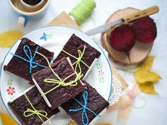Cviklové brownies / Beetroot brownies | Lapetit