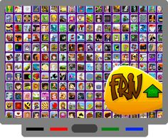 Smartoboard blog with,other things too, like Friv (need to check out with a computer with Flash Player)