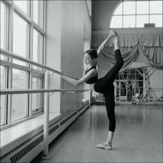 Ballet....daily barre