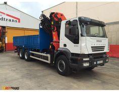 IVECO TRAKKER truck crane PALFINGER PK 330 44002-2007