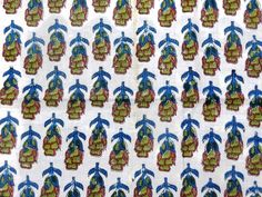Indian Hand Block Print Dressmaking Cotton Fabric Craft Sewing By Yards A303 #Handmade