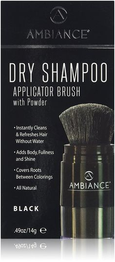 Ambiance Dry Shampoo Applicator Brush - Available in 5 Colors - Black * Visit the image link more details. (This is an affiliate link and I receive a commission for the sales) Dry Shampoo, Beauty And The Beast, Hair Care, Blog, Colors, Image Link, Blogging, Colour, Color