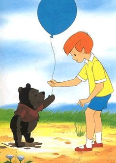 Winnie the Pooh and Christopher Robin Winnie The Pooh Nursery, Winne The Pooh, Winnie The Pooh Quotes, Disney Winnie The Pooh, Disney Magic, Disney Art, Disney Pixar, Eeyore, Tigger