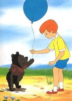 Winnie the Pooh - I'm just a little black rain cloud