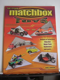 Matchbox Memorabilia Value Guide Collector's Book King Size Major Pack