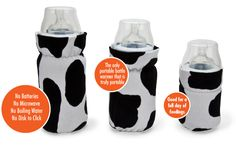 WarmZe On The Fly Bottle Warmers - heat baby's bottle on the go with air-activated warming pads!