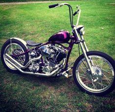 Harley Shovelhead in a VL Frame Custom Chopper Bobber Panhead Knucklehead