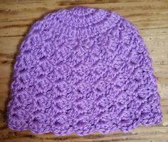 Baby hat free #crochet pattern from JR Crochet Designs