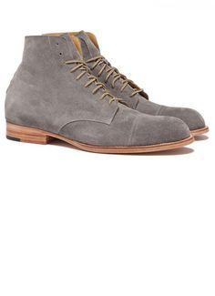 Suede Grey Vern Boot