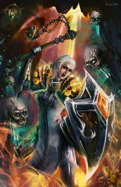 Crusader, Diablo III by Junica-Hots.deviantart.com on @deviantART