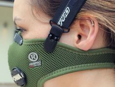 Respro® Mask Strap - black with Ultralight™ Mask http://respro.com/store/product/respro-mask-strap