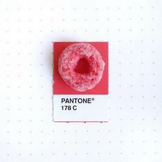 Пончик как образец оттенка.