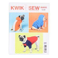 Kabátek pro psa, KwikSew 4033