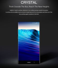 UMIDIGI UMI CRYSTAL 4GB RAM 64GB ROM MTK6750T 1.5GHz Octa Core 5.5 Inch 2.5D Corning Gorilla Glass Sharp FHD Bezel-less Screen Dual Camera Android 7.0 4G LTE Smartphone