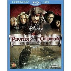 awesome Pirates of the Caribbean At World's End [3 Discs] [Blu-rayDVD] - For Sale Check more at http://shipperscentral.com/wp/product/pirates-of-the-caribbean-at-worlds-end-3-discs-blu-raydvd-for-sale/