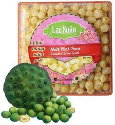Mứt hạt sen Candied Fruit, Lotus, Blog, Blogging, Lily, Lotus Flower