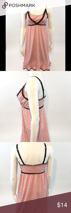 """Bump In The Night nursing pajamas nightgown small • gently used maternity nursing nightgown • Easily accessible nursing straps • No stains or defects • NOTE: color may vary due to camera flash, lighting and monitor screen • Armpit to armpit 13"""" • Length 32"""" bump in the night Intimates & Sleepwear Pajamas"""