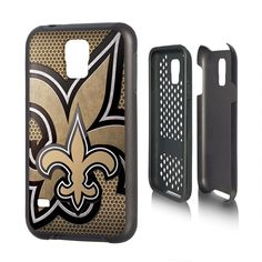 New Orleans Saints Samsung Galaxy S5 Phone Rugged Phone Cover Durable NFL NEW!!