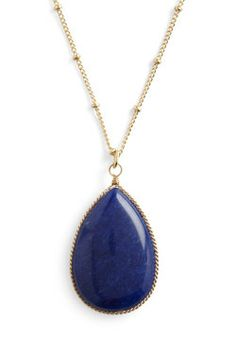 Teardrop Me Off Here Necklace, #ModCloth