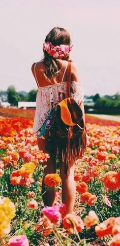 ❀ Flower Maiden Fantasy ❀ beautiful photography of women and flowers - flower child