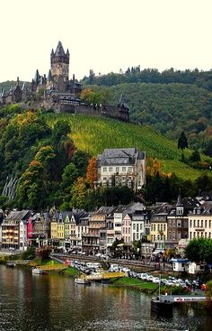 Cochem Castle, Germany (by destinatio)