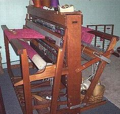 Beka Cherry Wood Weaving Loom.  This reminds me of the loom I learned how to weave on.