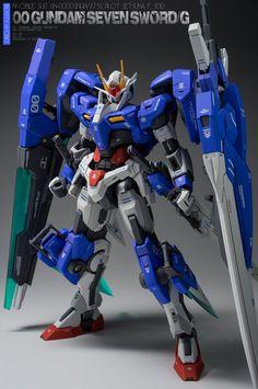 GUNDAM GUY: MG 1/100 00 Gundam Seven Sword/G - Customized Build