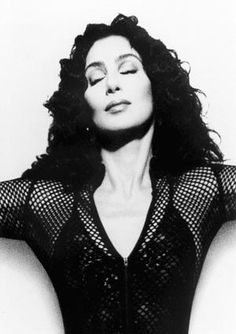 Cher by Herb Ritts, I never loved her as a solo artist I just love her